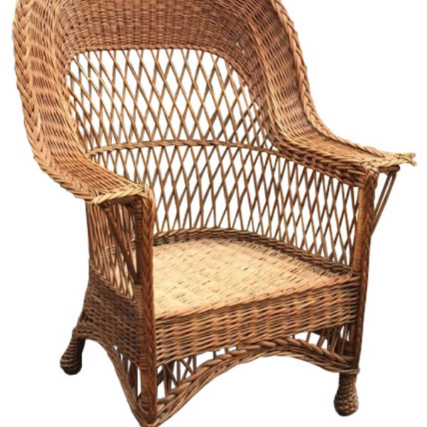 Antique Wicker Chair - Seating Archives - The Wicker Shop